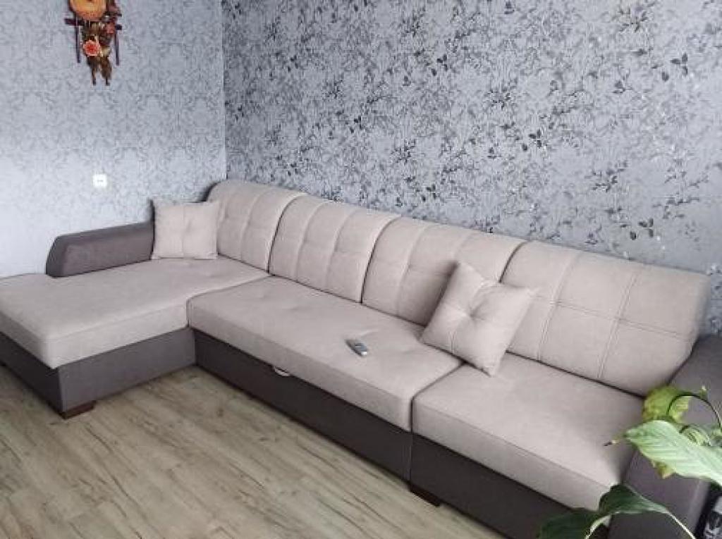"""""""Лацио М Премиум"""" угловой диван"""
